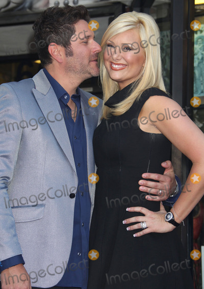 Allison DeMarcus Photo - 17 September 2012 - Hollywood California - Jay DeMarcus Allison DeMarcus Rascal Flatts Honored with a star on the Hollywood Walk of Fame in the Category of recording held on Hollywood Boulevard Photo Credit Russ ElliotAdMedia