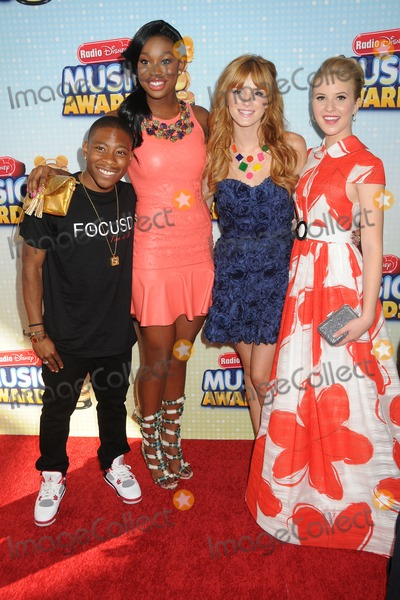 Carlon Jeffery Photo - 27 April 2013 - Los Angeles California - Carlon Jeffery Coco Jones Bella Thorne Caroline Sunshine Radio Disney Music Awards 2013 held at Nokia Theatre LA Live Photo Credit Byron PurvisAdMedia