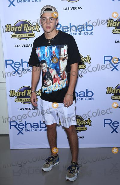 Austine Mahone Photo - 08 April 2017 - Las Vegas Nevada - Austin Mahone Austin Mahone celebrates his 21st birthday at Las Vegas hottest dayclub REHAB Beach Club at Hard Rock Hotel  Casino Photo Credit MJTAdMedia
