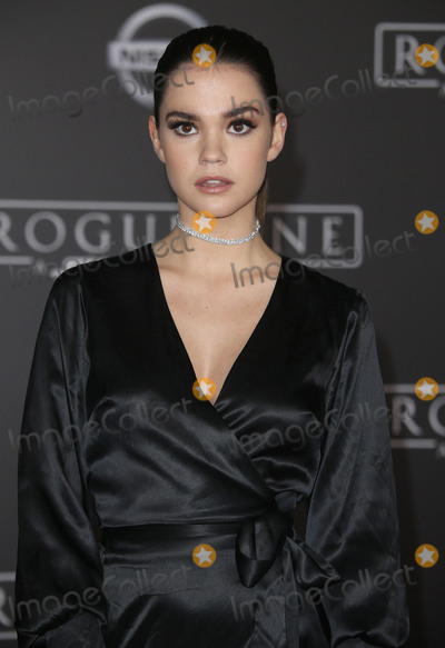 Maia Mitchell Photo - 10 December 2016 - Hollywood California - Maia Mitchell Rogue One A Star Wars Story World Premiere held at Pantages Theater Photo Credit F SadouAdMedia