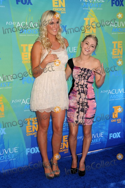 Bethany Hamilton Photo - 7 August 2011 - Universal City California - Bethany Hamilton and AnnaSophia Robb 2011 Teen Choice Awards - Arrivals held at Gibson Amphitheatre Photo Credit Byron PurvisAdMedia