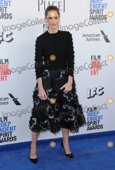 Amanda Peete Photo - 25 February 2017 - Santa Monica California - Amanda Peet 2017 Film Independent Spirit Awards held held at the Santa Monica Pier Photo Credit Birdie ThompsonAdMedia