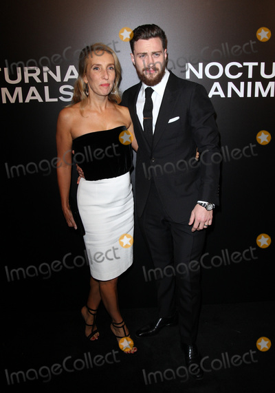 Aaron Taylor-Johnson Photo - 11 November 2016 - Los Angeles California - Aaron Taylor-Johnson with wife Sam Taylor-Johnson Nocturnal Animals Los Angeles Screening held at the Hammer Museum Photo Credit AdMedia