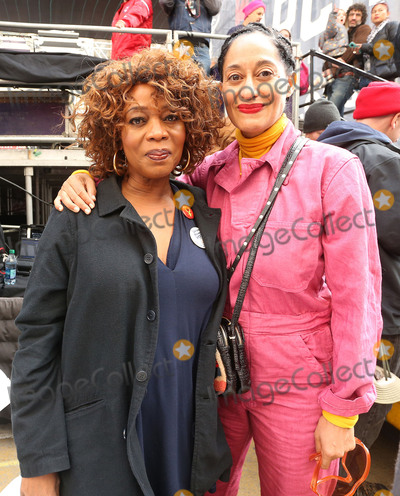 Alfre Woodard Photo - 21 January 2017 - Los Angeles California - Alfre Woodard Tracee Ellis Ross Womens March in Los Angeles California Photo Credit F SadouAdMedia