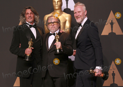 Alessandro Bertolazzi Photo - 26 February 2017 - Giorgio Gregorini Alessandro Bertolazzi Christopher Allen Nelson 89th Annual Academy Awards presented by the Academy of Motion Picture Arts and Sciences held at Hollywood  Highland Center Photo Credit Theresa ShirriffAdMedia