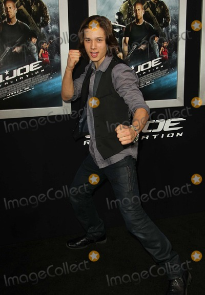 Leo Howard Photo - 28 March 2013 - Hollywood California - Leo Howard GI Joe Retaliation - Los Angeles Premiere Held At The Graumans Chinese Theatre Photo Credit Kevan BrooksAdMedia
