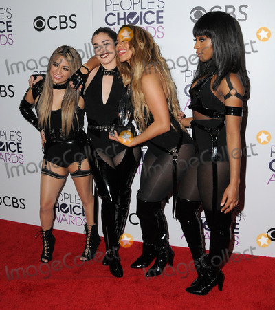 Ally Brooke Photo - 18 January 2017 - Los Angeles California - Fifth Harmony Dinah Jane Lauren Jauregui Ally Brooke Normani Kordei 2017 Peoples Choice Awards Press Room held at the Microsoft Theater Photo Credit Birdie ThompsonAdMedia