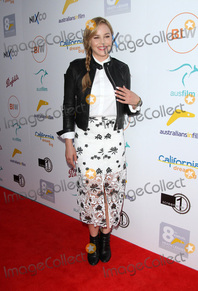 Abbie Cornish Photo - 01 June 2016 - Beverly Hills California - Abbie Cornish 2016 Australians in Film Heath Ledger Scholarship Announcement Dinner held at Mr C Beverly Hills Photo Credit AdMedia