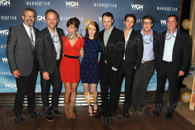 Ashley Zukerman Photo - 29 July 2015 - Beverly Hills California - Thomas Schlamme John Benjamin Hickey Katja Herbers Rachel Brosnahan Christopher Denham Ashley Zukerman Sam Shaw Manhattan Summer TCA Panel held at the Beverly Hilton Hotel Photo Credit Byron PurvisAdMedia