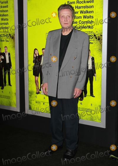 Christopher Walken Photo - 1 October 2012 - Westwood California - Christopher Walken Seven Psychopaths - Los Angeles Premiere Held At The Mann Bruin Theatre Photo Credit Kevan BrooksAdMedia