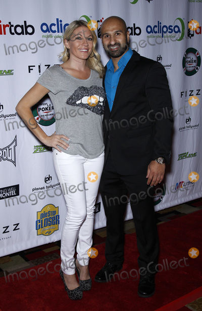 Alicia Webb Photo - 19 June 2015 - Las Vegas Nevada -  Alicia Webb Shawn Daivari One Step Closer Foundation Charity Poker Tournament Red Carpet  Photo Credit MJTAdMedia
