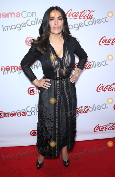 Salma Hayek Photo - 30 March 2017 - Las Vegas NV -  Salma Hayek 2017 CinemaCon Big Screen Achievement Awards at Caesars Palace  Photo Credit MJTAdMedia