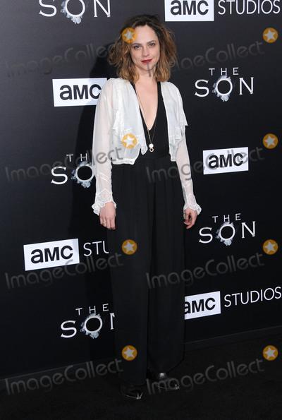 Fiona Dourif Photo - 03 April 2017 - Hollywood California - Fiona Dourif  Premiere screening of AMCs The Son held at ArcLight Hollywood in Hollywood Photo Credit Birdie ThompsonAdMedia