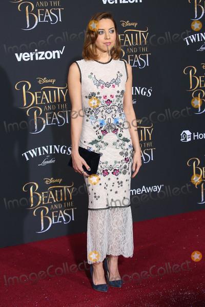 Aubrey Plaza Photo - 02 March 2017 - Hollywood California - Aubrey Plaza Disneys Beauty and the Beast World Premiere held at El Capitan Theatre Photo Credit AdMedia
