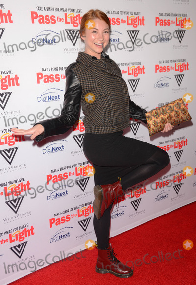 Allie Gonino Photo - 02 February 2015 - Hollywood Ca - Allie Gonino Arrivals for Pass the Light Los Angeles premiere held at The ArcLight Cinemas Photo Credit Birdie ThompsonAdMedia