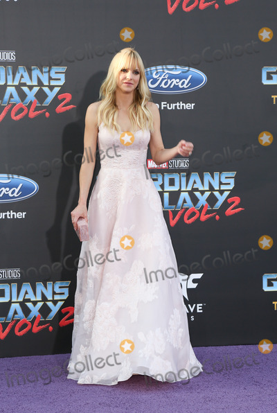 Anna Faris Photo - 19 April 2017 - Hollywood California - Anna Faris Premiere Of Disney And Marvels Guardians Of The Galaxy Vol 2 held at Dolby Theatre Photo Credit PMAAdMedia
