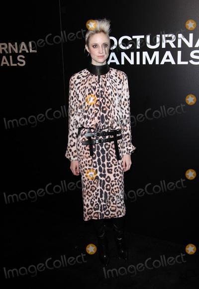 Andrea Riseborough Photo - 11 November 2016 - Los Angeles California - Andrea Riseborough Nocturnal Animals Los Angeles Screening held at the Hammer Museum Photo Credit AdMedia
