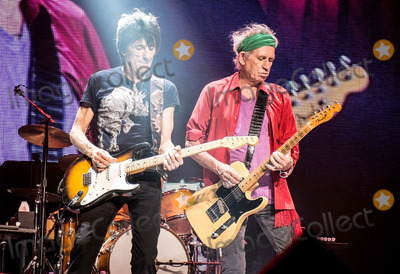 Rolling Stones Photo - 14 June 2013 - Boston Massachusetts - Ronnie Wood Keith Richards The Rolling Stones The Rolling Stones 50  Counting Tour live at TD Garden Photo Credit Randy PollickAdMedia