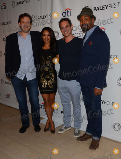 Andrew Kreisberg Photo - 06 September 2014 - Beverly Hills California - Andrew Kreisberg Candice Patton Greg Berlanti Jesse L Martin The 2014 Paleyfest Fall TV Previews for CWs The Flash and Jane the Virgin held at  The Paley Center for Media in Beverly Hills Ca Photo Credit Birdie ThompsonAdMedia