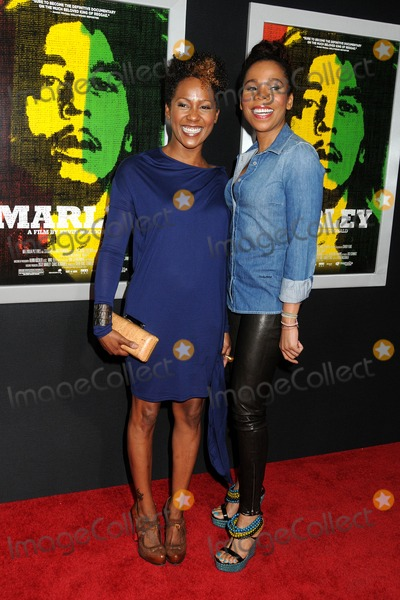 Cedella Marley Photo - 17 April 2012 - Hollywood California - Cedella Marley Karen Marley Marley Los Angeles Premiere held at Arclight Cinemas Photo Credit Byron PurvisAdMedia