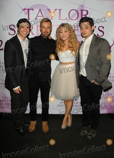 Andrew Lawrence Photo - 25 October 2014 - Studio City California - Matthew Lawrence Joey Lawrence Taylor Spreitler Andrew Lawrence Actress Taylor Spreitlers 21 In The City Birthday Party Held at CBS Studio Photo Credit FSadouAdMedia