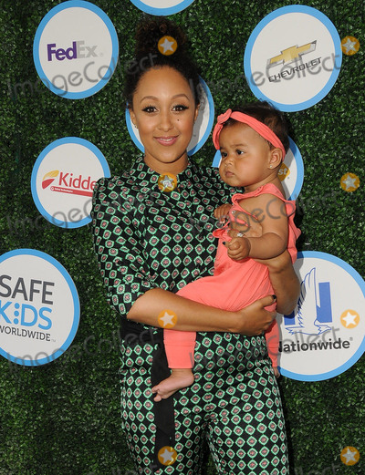 Tamera Mowry Photo - 24 April 2016 - Culver City California - Tamera Mowry-Housley Araya Housley Arrivals for Safe Kids Day held at Smashbox Studios Photo Credit Birdie ThompsonAdMedia