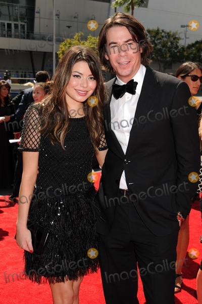 Jerry Trainor And Miranda Cosgrove