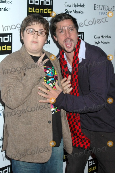Andy Milonakis Photo - Andy Milonakis and Simon Rex at Bondi Blondes Style Mansion Style Mansion International Beverly Hills CA 02-09-09