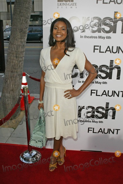 Gabrielle Union Photo - Gabrielle Unionat the Los Angeles Premiere of Crash The Academy of Motion Picture Arts and Sciences Beverly Hills CA 04-26-05