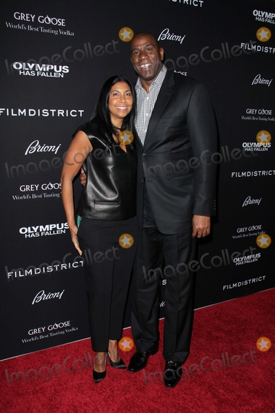 Magic Johnson Photo - Cookie Johnson Magic Johnsonat the Olympus Has Fallen Los Angeles Premiere Arclight Hollywood CA 03-18-13