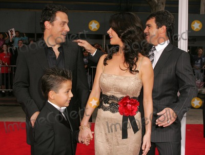 Adrian Alonso Photo - Rufus Sewell and Catherine Zeta-Jones with Antonio Banderas and Adrian Alonsoat the premiere of The Legend of Zorro Orpheum Theater Los Angeles CA 10-16-05