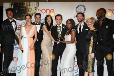 Katie Findlay Photo - Alfred Enoch Karla Souza Jack Falahe Katie Findlay Matt McGorry Aja Naomi King Charlie Weber Liza Weil Billy Brownat the 46th NAACP Image Awards Press Room Pasadena Convention Center Pasadena CA 02-06-15