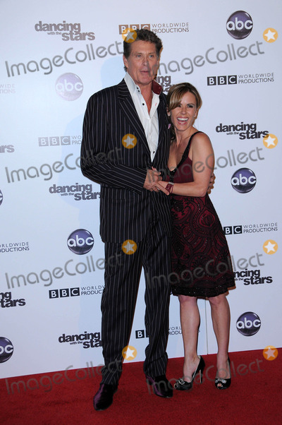 Trista Rehn Photo - David Hasselhoff and Trista Rehnat the Dancing With The Stars 200th Episode Boulevard 3 Hollywood CA 11-01-10