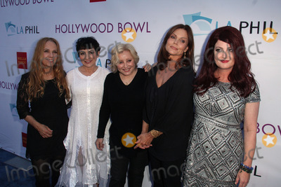 Gina Schock Photo - Charlotte Caffey Jane Wiedlin Gina Schock Belinda Carlisle Abby Travisat the Hollywood Bowl Opening Night and Hall Of Fame Ceremony Hollywood Bowl Hollywood CA 06-21-14