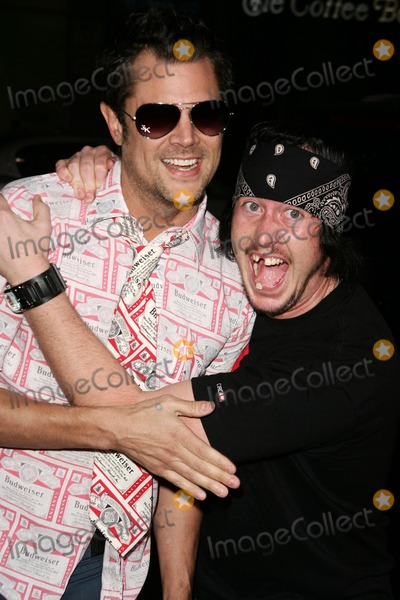 Ehren McGhehey Photo - Johnny Knoxville and Ehren McGheheyat the premiere of Jackass Number Two Graumans Chinese Theatre Hollywood CA 09-21-06