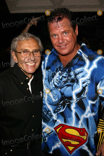 Andy Kaufman Photo - George Shapiro and Jerry Lawler at Andy Kaufman Dead Or Alive a party thrown to celebrate the 20 year anniversary (and rumored return) of Andy Kaufmans death House of Blues Hollywood CA 05-16-04