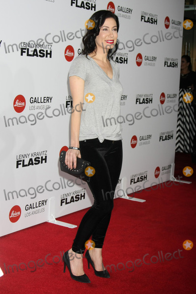 Amber Melfi Photo - Amber Melfiat the Lenny Kravitz Flash Photo Exhibit Launch Leica Gallery Los Angeles CA 03-05-15
