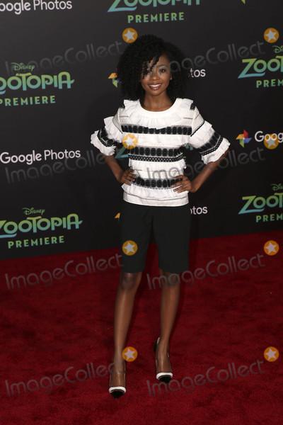 Skai Jackson Photo - Skai Jacksonat the Zootopia Premiere El Capitan Hollywood CA 02-17-16