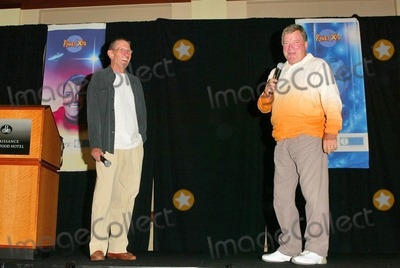 William Shatner Photo - Leonard Nimoy and William Shatner at the Beam Me Up Scotty One Last Time The James Doohan Farewell Star Trek Convention and Tribute at the Renaissance Hollywood Hotel Hollywood CA 08-29-04