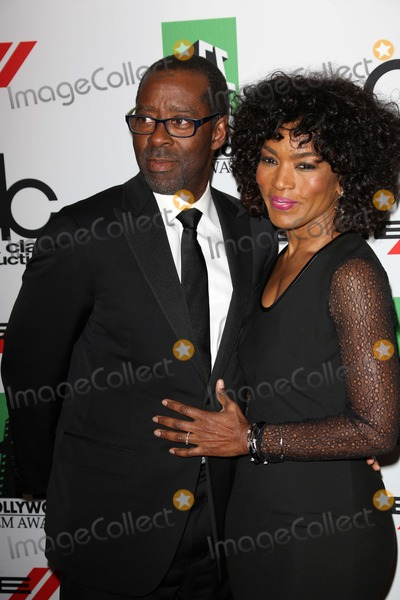 Courtney B Vance Photo - Courtney B Vance Angela Bassettat the 17th Annual Hollywood Film Awards Arrivals Beverly Hilton Hotel Beverly Hills CA 10-21-13