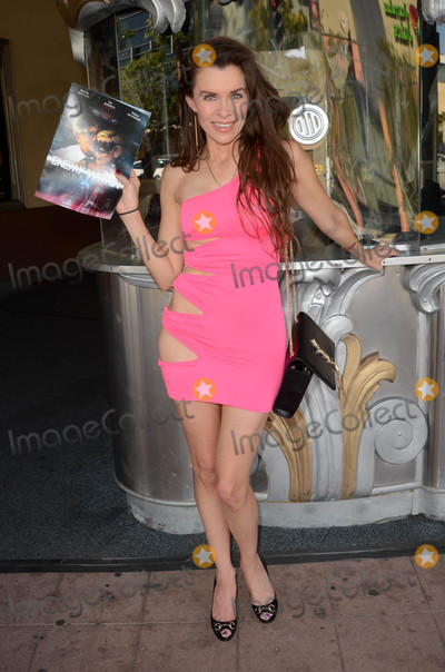 Eric Roberts Photo - Alicia Ardenwears a scandalous pink dress to a special screening of her new film Enemy Within co-starring Eric Roberts Hollywood CA 09-27-16