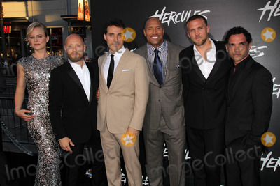 Aksel Hennie Photo - Ingrid Bols Berdal Aksel Hennie Rufus Sewell Dwayne Johnson Tobias Santelmann Reece Ritchieat the Hercules Los Angeles Premiere TCL Chinese Theater Hollywood CA  07-23-14