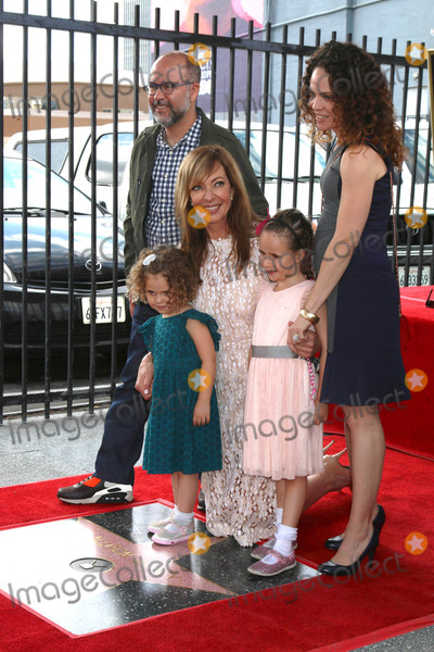 Allison Janney Photo - Allison Janney familyat the Allison Janney Star on the Hollywood Walk of Fame Hollywood CA 10-17-16