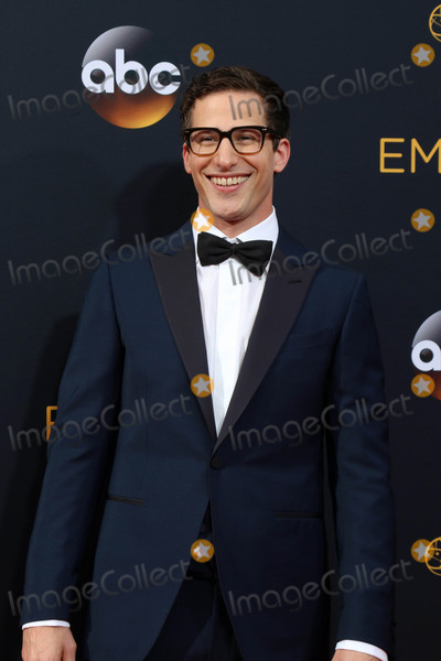 Andy Samberg Photo - Andy Sambergat the 68th Annual Primetime Emmy Awards Arrivals Microsoft Theater Los Angeles CA 09-18-16