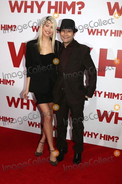 Ann Mitchell Photo - Courtney Anne Mitchell Cory Feldmanat the Why Him Premiere Bruin Theater Westwood CA 12-17-16