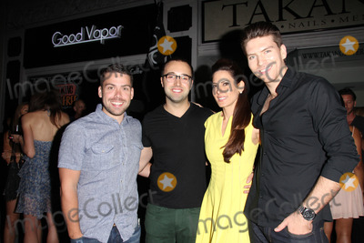 Jesse Kove Photo - Kerri Kasem Jesse Kove and friendsat her birthday Party at her store Good Vapor Beverly Hills CA 07-26-14