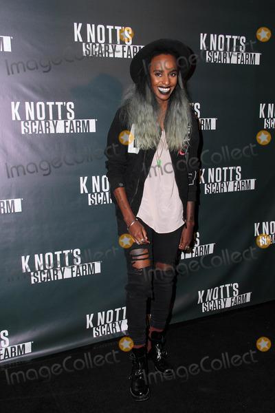 Angel Haze Photo - Angel Hazeat the Knotts Scary Farm Celebrity VIP Opening Knotts Berry Farm Buena Park CA 10-02-14