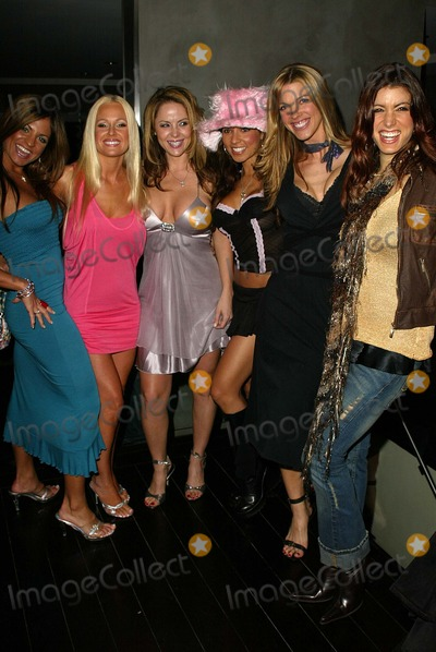 Nikki Zeno Photo - Bridgetta Tomarchio Katie Lohmann Mishel Thorpe Nikki Zeno Linda Overheu and Corinne Saffell at the Winter LA Celebrity Charity Event to honor Sound Art and Black Sheep Private Residence West Hollywood CA 12-05-04