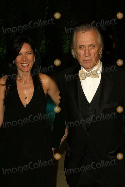 Annie Bierman Photo - Annie Bierman and David Carradine at the 2005 Vanity Fair Oscar Party Mortons West Hollywood CA 02-27-05