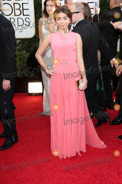 Sarah Hyland Photo - Sarah Hylandat the 71st Annual Golden Globe Awards Arrivals Beverly Hilton Hotel Beverly Hills CA 01-12-14